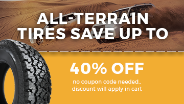 All-Terrain Tires Sale