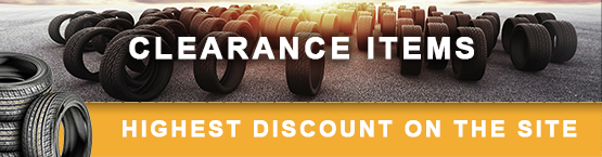 Clearance Items on Sale at PriorityTireOutlet.com
