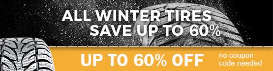 Winter Tires Sale 10% OFF