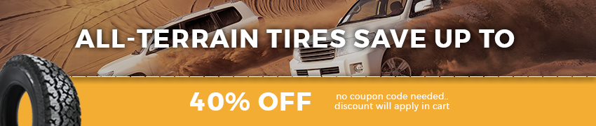 All Terrain Tires Sale