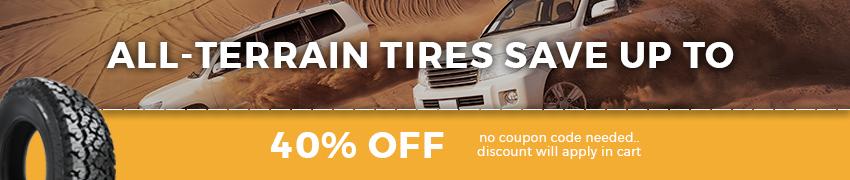 All Terrain Tires Sale