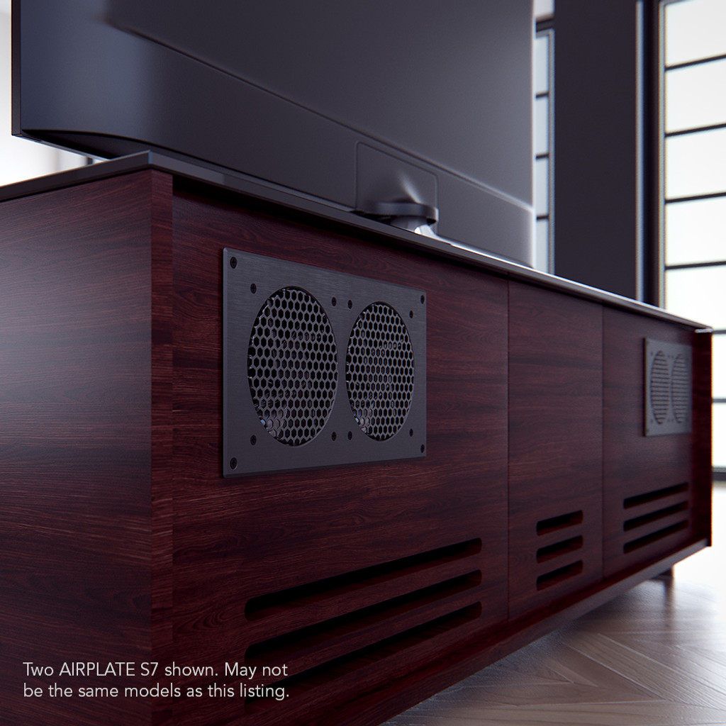 AIRPLATE S7, Home Theater And AV Quiet Cabinet Cooling Fan