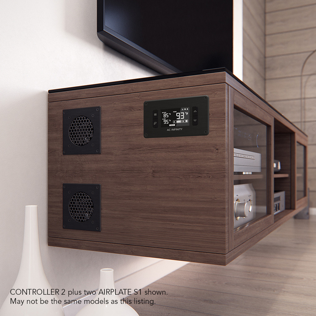 Genial Home Theater, Entertainment Center, AV Cabinet Cooling Fan