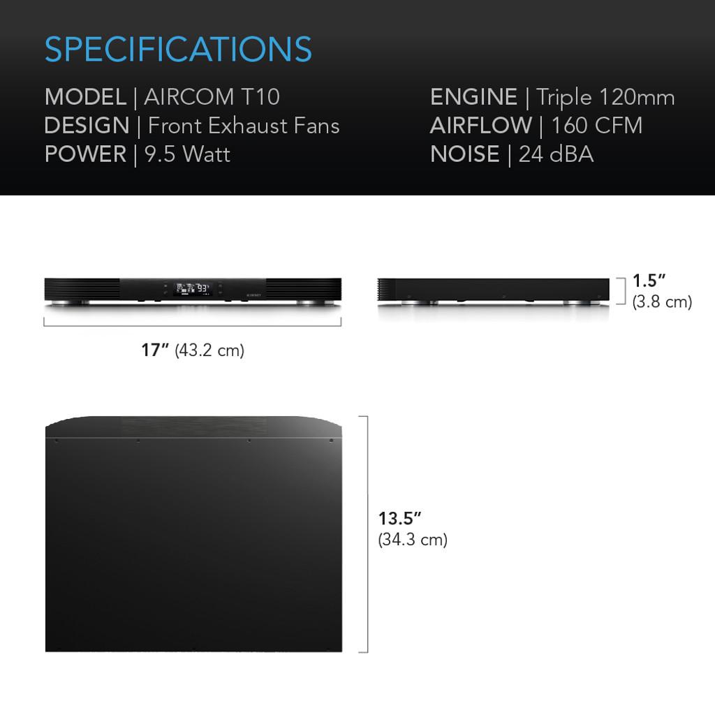 AV Amplifier and Receiver Cooling Fan
