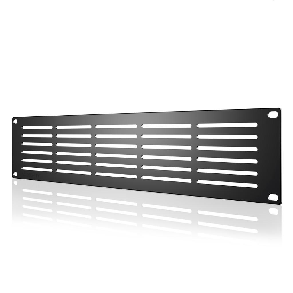 Rack Panel 2U Vented