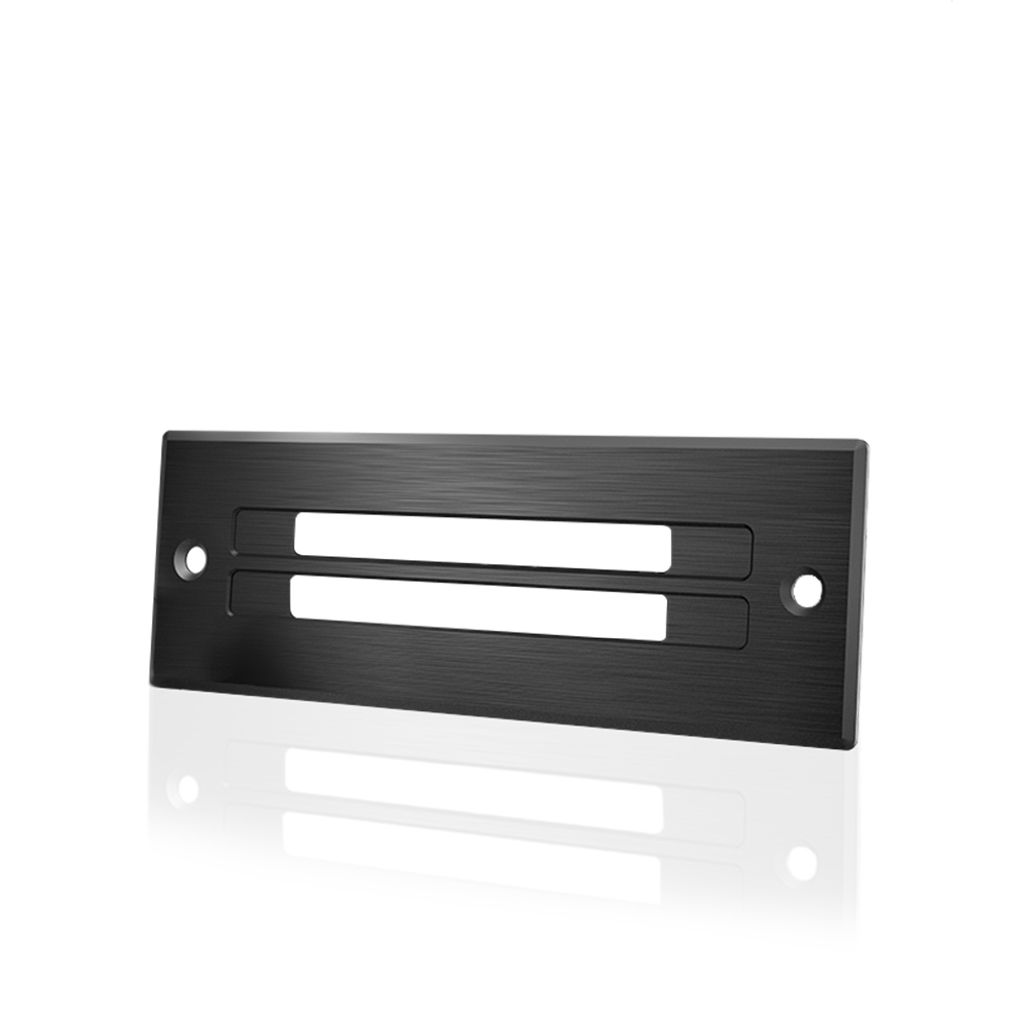 AC INFINITY, Cabinet Ventilation Grille Black, 6 Inch Low