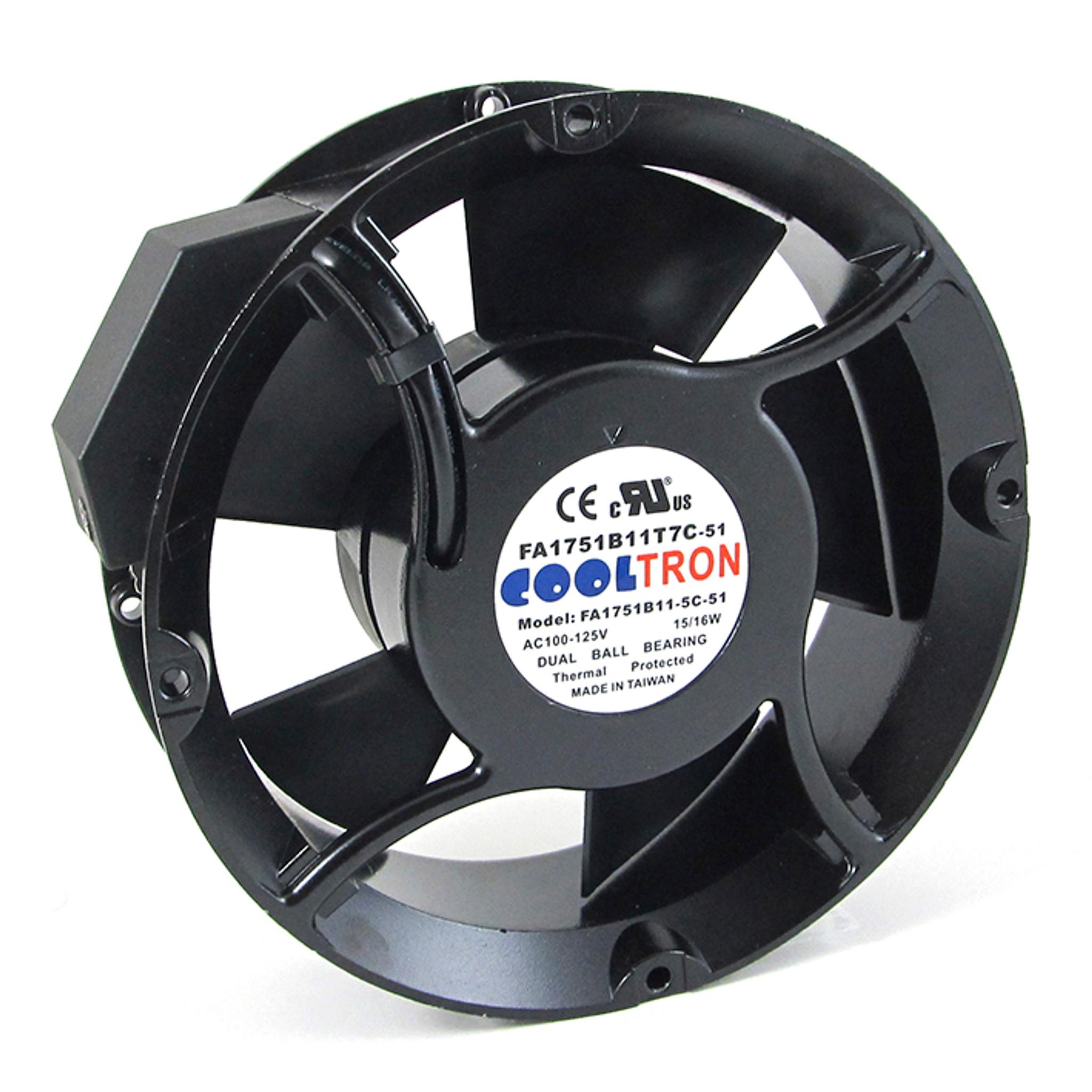 115v Ac Cooltron Fan 216 170mm X 51mm High Speed Ac Infinity