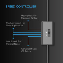 USB Cooling Blower Fan