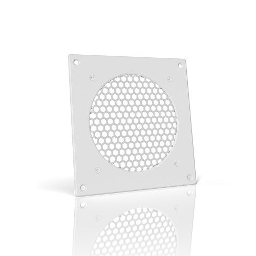 AC INFINITY, Cabinet Ventilation Grille White, 6 Inch