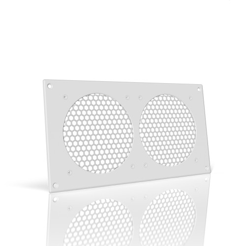 AC INFINITY, Cabinet Ventilation Grille White, 12 Inch