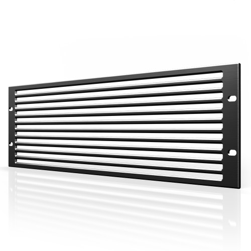AC INFINITY, Anodized Aluminium Rack Panel Vented 3U
