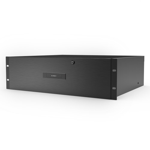 AC INFINITY, Heavy-Duty Rack Drawer with Aluminium Faceplate, 3U