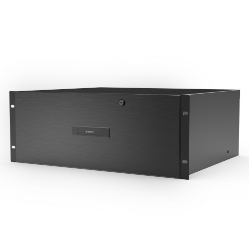 AC INFINITY, Heavy-Duty Rack Drawer with Aluminium Faceplate, 4U