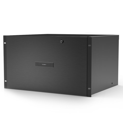 (FUTURE PRODUCT) AC INFINITY, Heavy-Duty Rack Drawer with Aluminium Faceplate, 6U