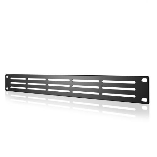 AC INFINITY, Heavy-Duty Steel Rack Panel Vented 1U