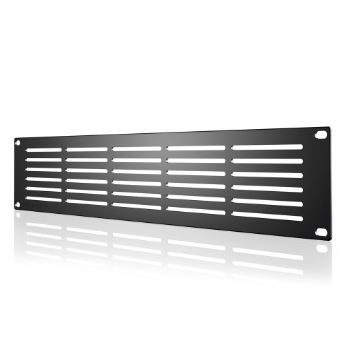 AC INFINITY, Heavy-Duty Steel Rack Panel Vented 2U