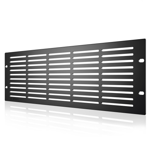 AC INFINITY, Heavy-Duty Steel Rack Panel Vented 3U
