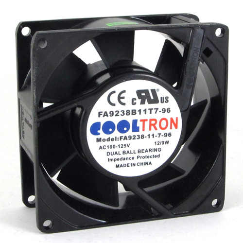 115V AC Cooltron Fan 92mm x 38mm High Speed