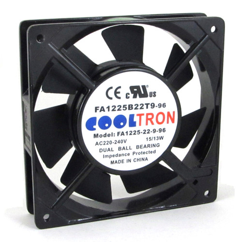 230V AC Cooltron Fan 120mm x 25mm High Speed