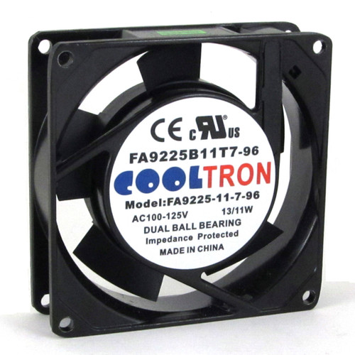 115V AC Cooltron Fan 92mm x 25mm High Speed