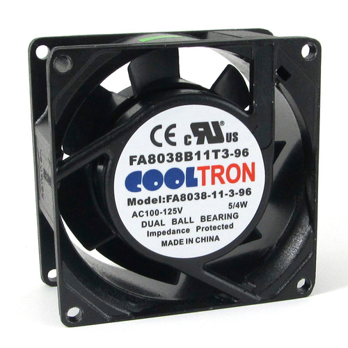 115V AC Cooltron Fan 80mm x 38mm Low Speed