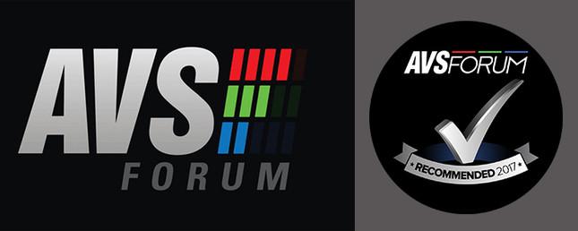 AVS Forum  2017 Award