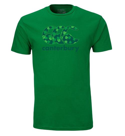 Our popular CCC logo tee with an Irish twist! Green tonal screenprint front. 100% Cotton.