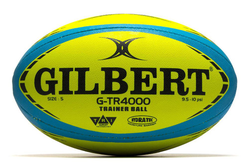 Gilbert G-TR4000 Trainer Rugby Ball - Fluoro