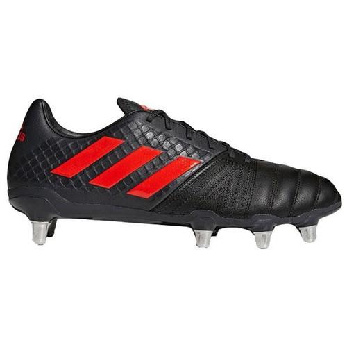 Adidas Kakari SG Rugby Boot - Black/Red