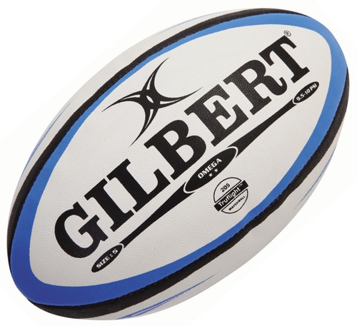Gilbert Omega Match Rugby Ball available in size 3,4 and 5 from Rugby City