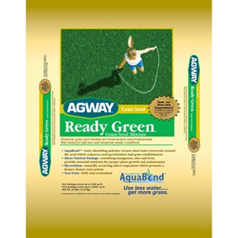 Agway, Ready Green Grass Seed, 25 Lb