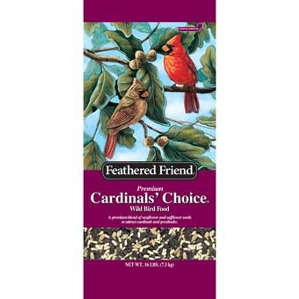 Feathered Friend, Cardinal's Choice Wild Bird Food, 16 Lb