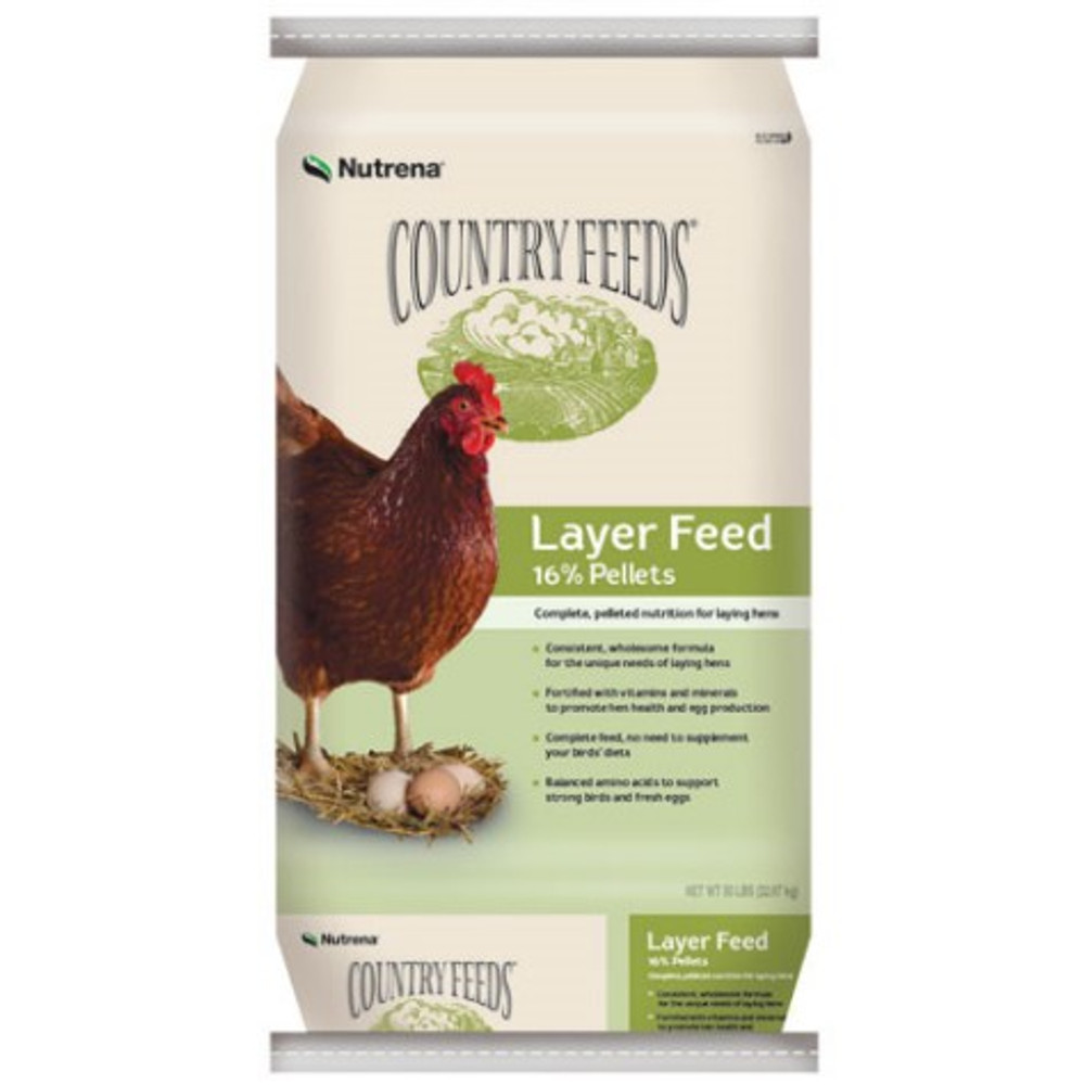 Country Feeds Layer Pellets 16% 50 Lb