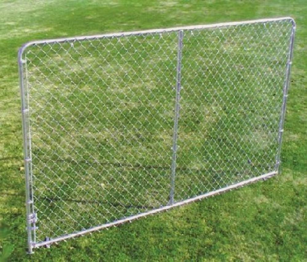 Dog Kennel Panel, 10' Long x 6' High, Galvanized