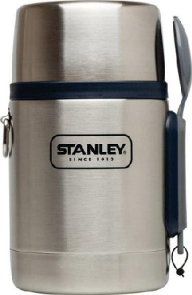 Food Jar With Spoon/Fork, Stainless Steel, 18 Oz