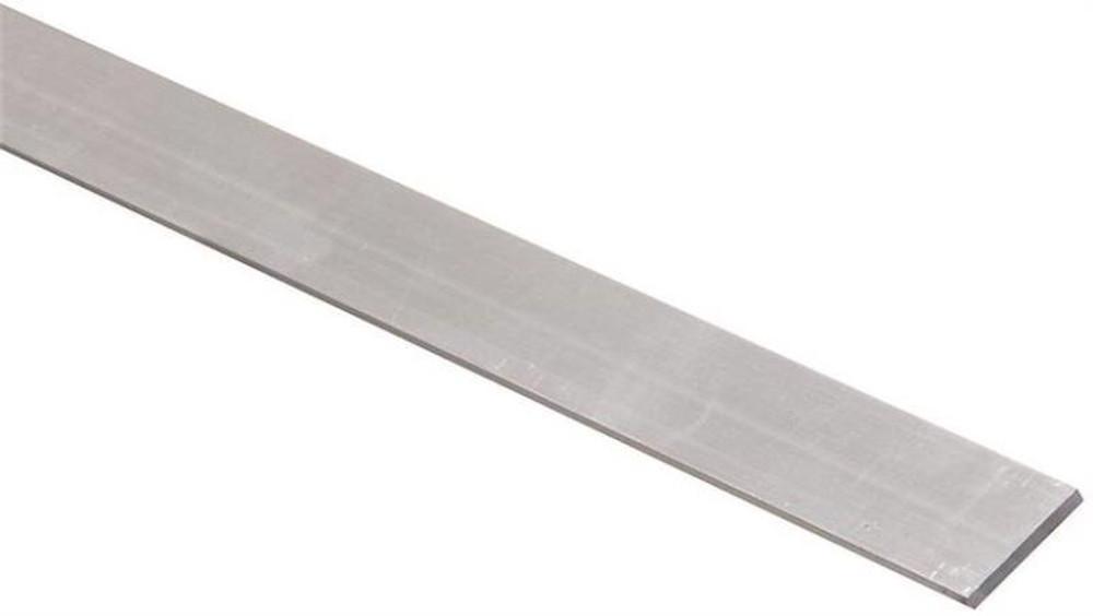 "Aluminum Bar, 1"" x 1/8"" x 36"", Mill Finish"