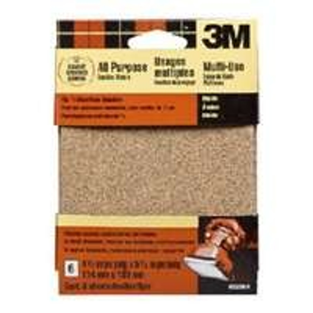 "Palm Sander Sandpaper, 60 Grit Coarse, 6 Pack, 4-1/2"" x 5-1/2"""