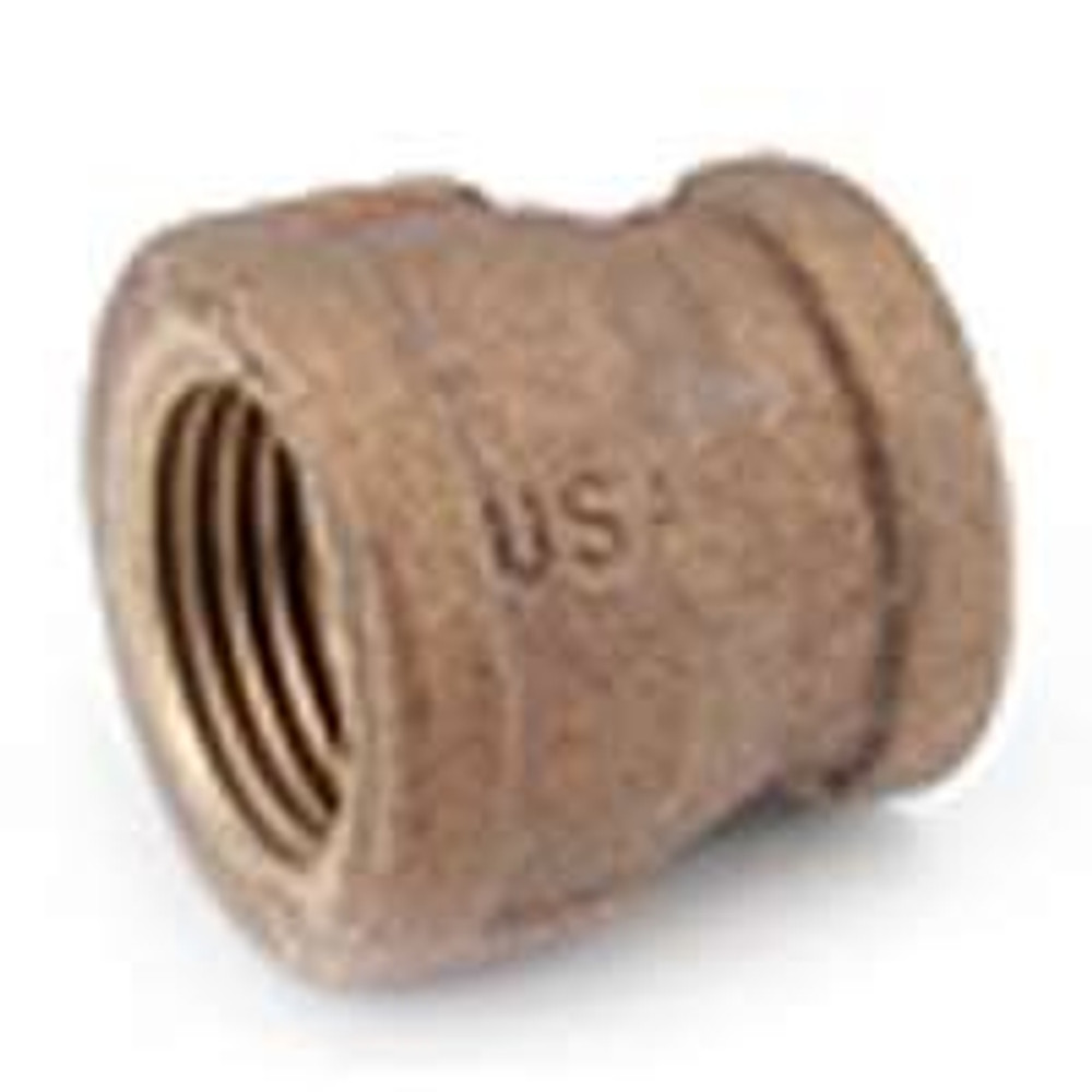 "3/4"" X  1/2"" Brass Coupling"