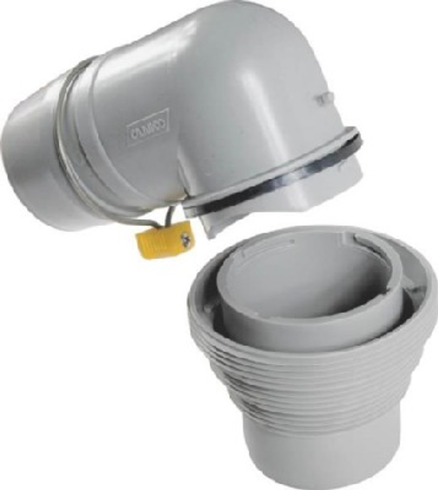 RV Sewer Elbow & 4 In 1 Adapter
