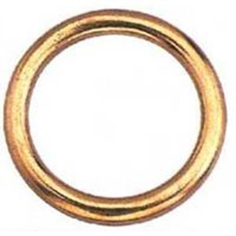 """Welded Ring, Bronze, 2"""""""