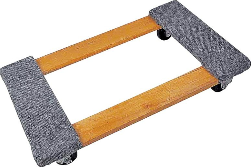Furniture Dolly, 4 Wheel With Carpet Padding, 1,000 Lb Capacity