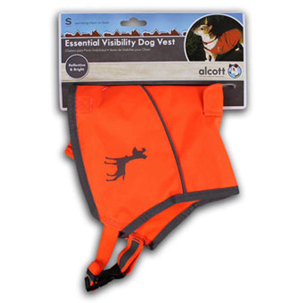 Dog Vest, Neon Orange, Small