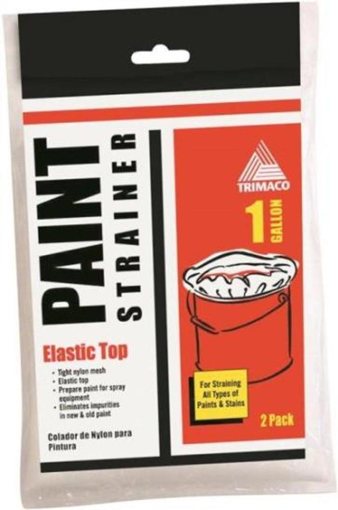 Paint Strainer, 1 Gallon, Elastic Top, Nylon