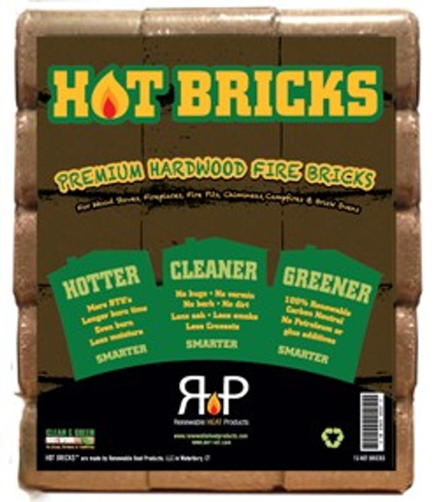 Hot Bricks 15 Pack Hardwood