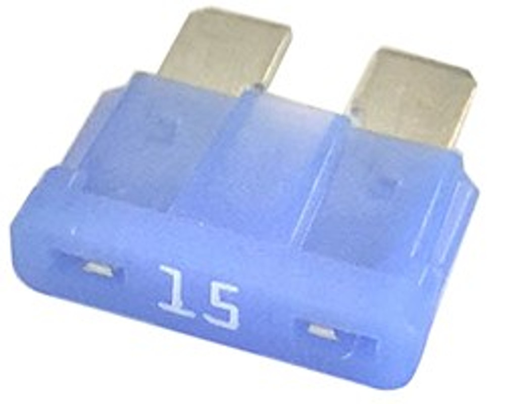 ATC 15, Auto Fuse, 15 Amp, Blue