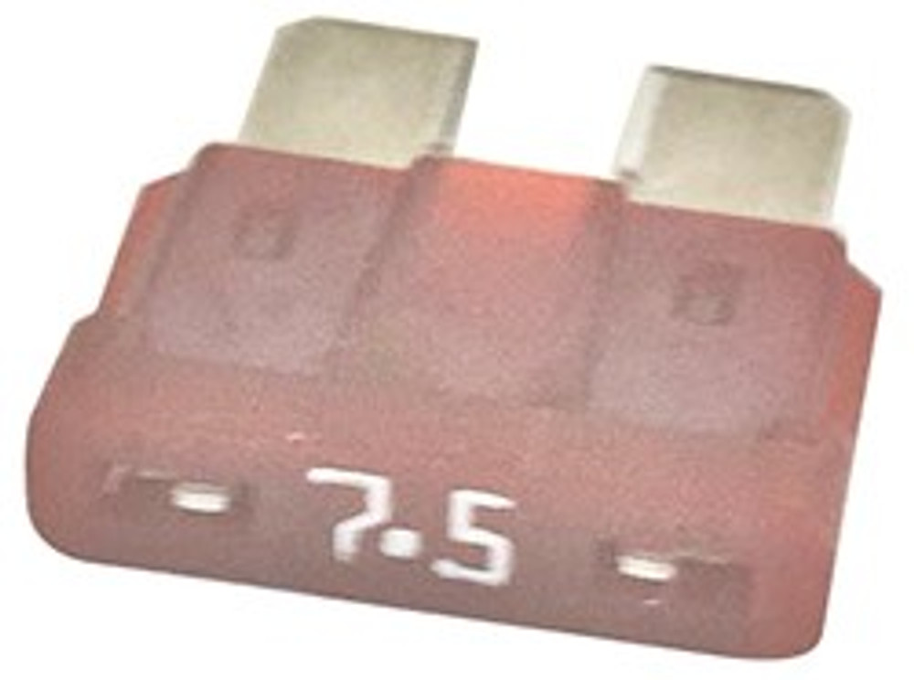 ATC  7.5, Auto Fuse, 7.5 Amp, Brown