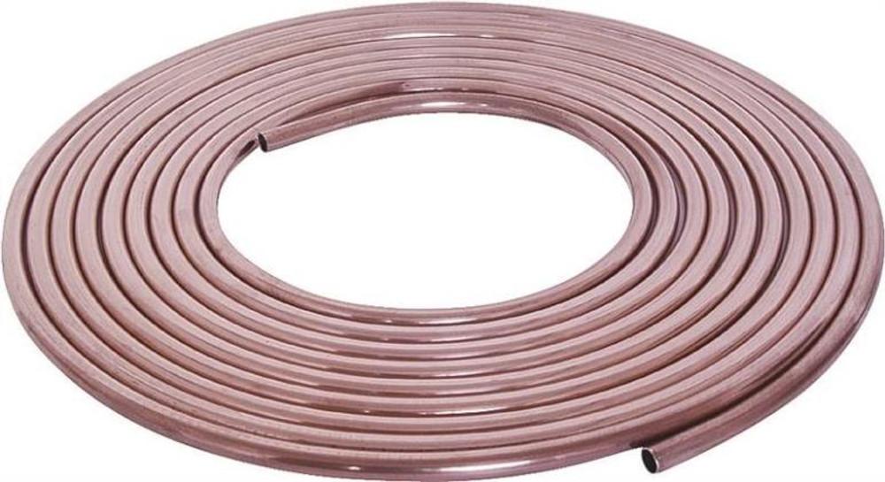 "Copper Tubing, 1/4"" x 20', Soft"
