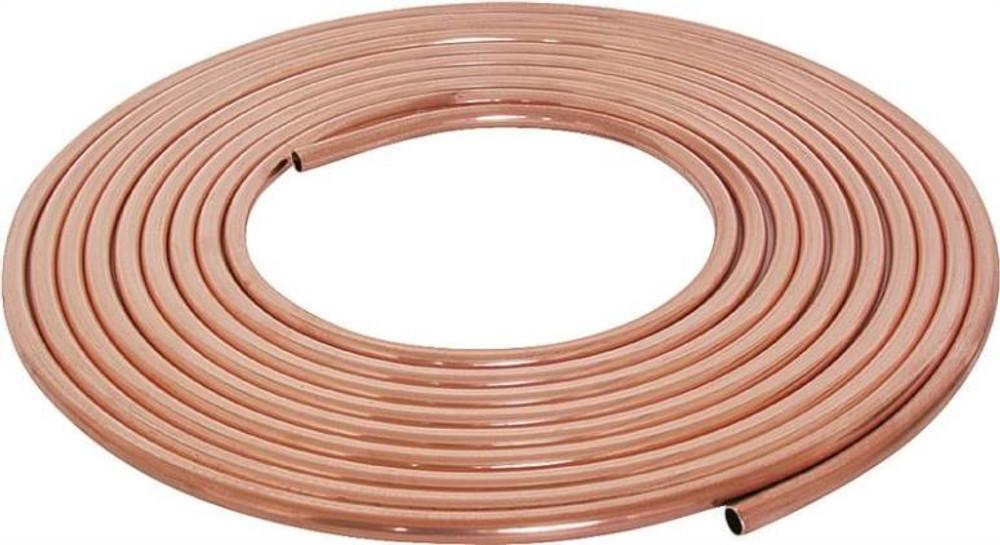 "Copper Tubing, 1/4"" x 60', Soft"