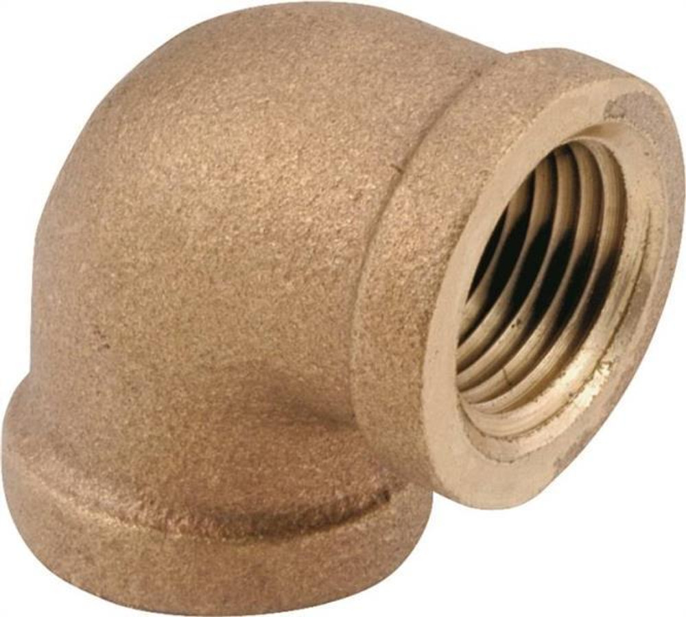 "Brass Fittings, 1/4"", Elbow, 90 Deg"