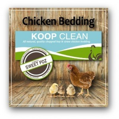Koop Clean, 2.4 Cubic Feet Bag, Poultry Bedding